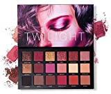 Professional 18 Super Pigmented Eyeshadow Palettes Trcoveric, 8 Mattes + 10 Sparkly Shimmers, Soft Creamy Texture Blendable Long-Lasting Makeup Eye Shadow Pallets, Personalized Gift