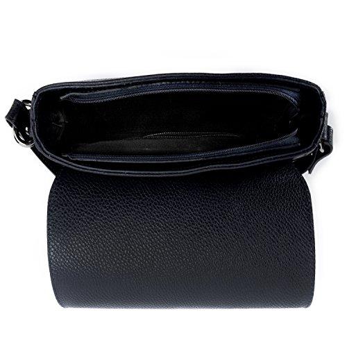 femme Sac OH Fonce Bleu BAG CUIR Vogue Main Modèle à MY AYwqBYZ