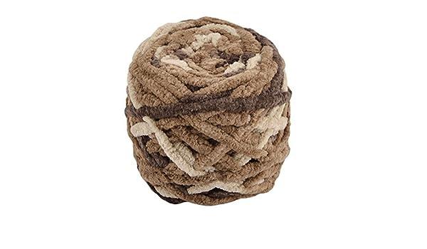 Amazon.com: DealMux poliéster Household Festival Knitting Artesanato DIY Hat Blanket Scarf Fios 90g # 2