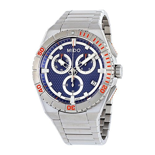 Ocean Star Captain Chronograph Mens Watch - Mido M023.417.11.041.00