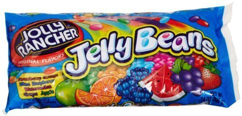 Jolly Rancher Jelly Beans Original Flavors 14-ounce Bags (Pack of (Jolly Rancher Jelly Beans)