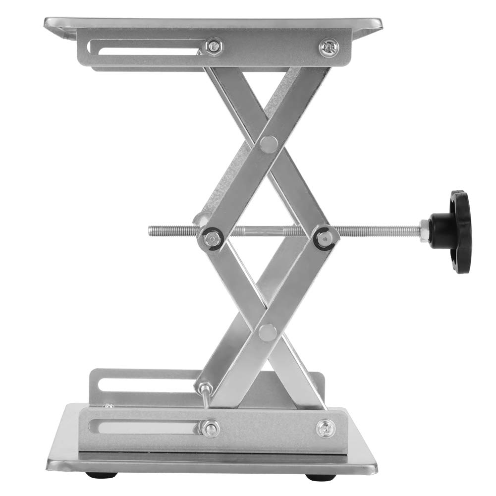 Rust Resistance Reliable Lifting Durable 200200280mm Laboratory Lifting Platform Stand Stainless Steel Scissor Rack Lift for Lab Instruments Industrial