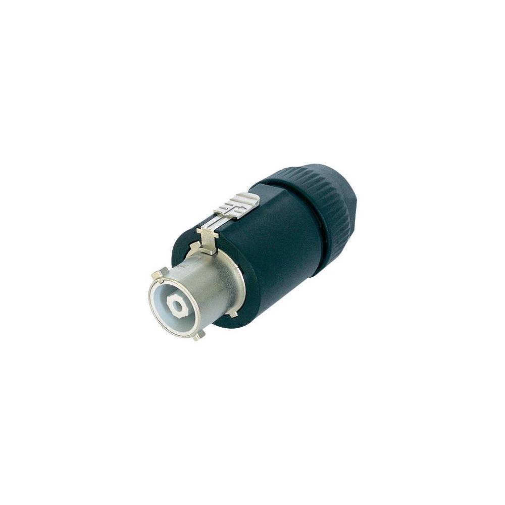 Neutrik - Conector de alimentació n para montaje en panel (250 V, 32 A) Monacor NAC3FC-HC