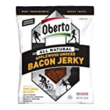 Oberto All Natural Applewood Smoked Bacon Jerky, 2.5 Ounce -- 12 per case.