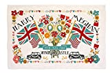 #2: Royal Wedding of Prince Harry and Meghan Markle Tea Towel (Flags Design)