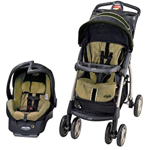 Evenflo Aura Elite Travel System - Greenville (Discontinued by Manufacturer)