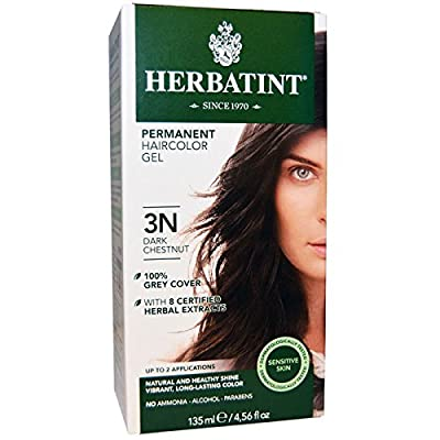 (4 PACK) - Herbatint 3N Dark Chestnut | 150ml | 4 PACK - SUPER SAVER - SAVE MONEY