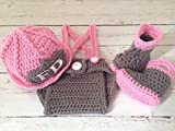 Pinbo® Baby Girls Photography Prop Crochet FD