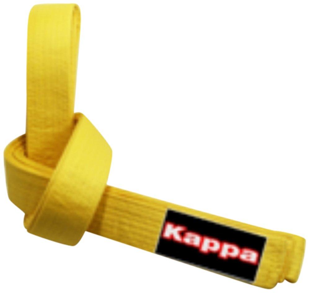 Kappa kappa4karate Montreal Unisex Adulto Amarillo cintur/ón Karate-Judo Unisex Adulto Montreal