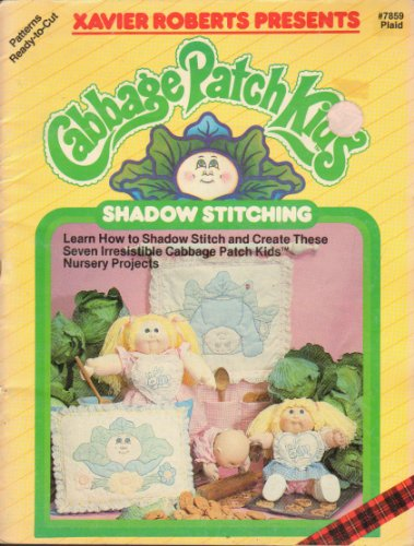 - Xavier Roberts Presents Cabbage Patch Kids Shadow Stitching (Plaid #7859)