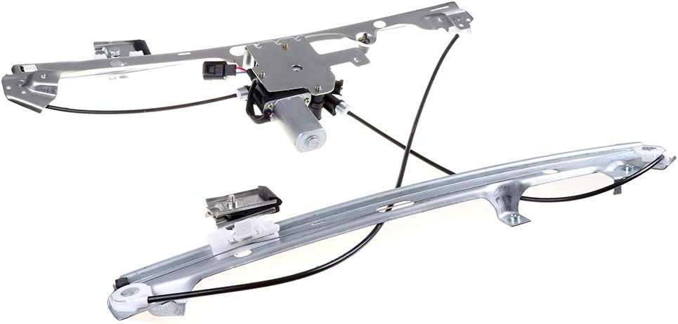 Front Right Passenger Side Power Window Regulator with Motor fits for 2002-2006 Cadillac 1999-2007 Chevrolet 1999-2007 GMC 741-645 15101786 15095844 15077854 15755430