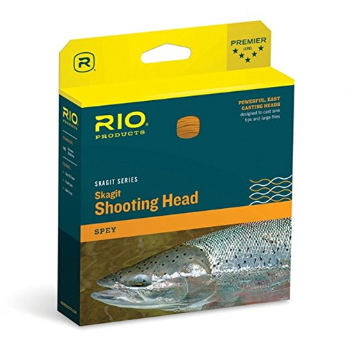 - Rio Fly Fishing Fly Line Maxi-Short Shad 450gr Fishing Line, Teal/Orange