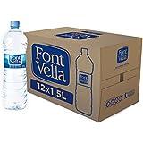 Font Vella - Agua Mineral Natural fácil de apilar- Caja 12 x 1,5 L