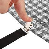 Bed Sheet Grippers Holder Straps Clips, Mattress