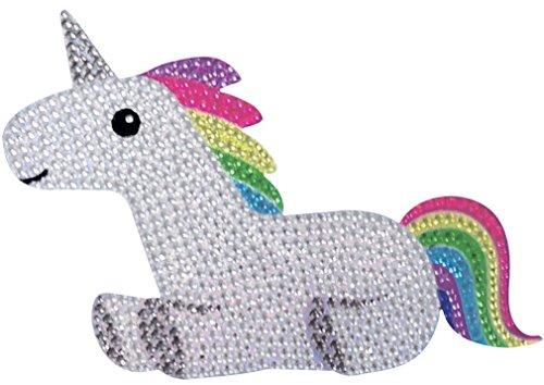 iscream Sparkly Rhinestone Good Vibes! Rainbow Unicorn 6