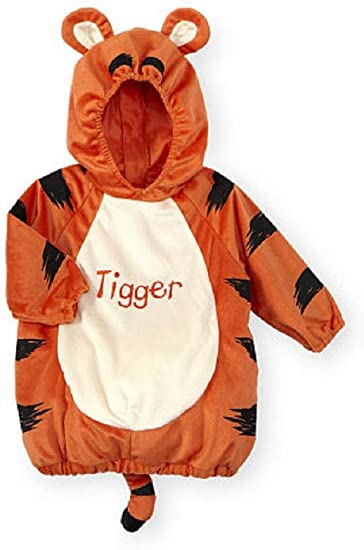 Disney Store Tigger Winnie the Pooh Baby Costume Shoes Size 0 6 12 18 24 Months