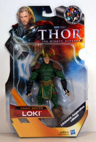 Thor The Mighty Avenger COMIC Exclusive 6 Inch Action Figure Loki