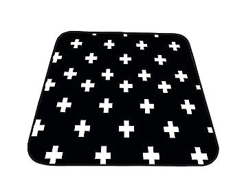 Zicac Washable High Chair Mat for Floor Anti-slip Baby Splash Mat W.. Splat Mat