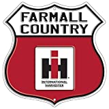 Farmall Country Highway Shield Embossed Sign