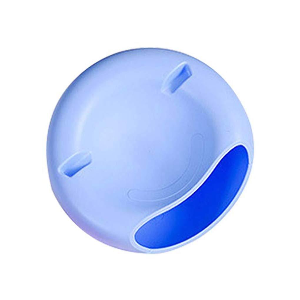 Lorsoul Plat de Fruits Snacks Noix Melon graines Bol Double Couche Coque en Plastique Boî te de Rangement Mobile Holder - Bleu