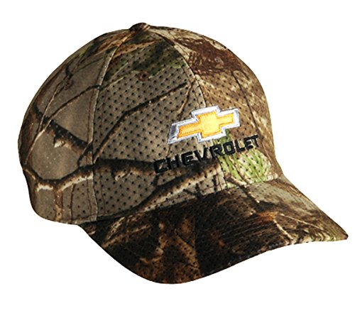 Chevrolet Chevy Camo Camouflage Hat Cap With Racing Decal
