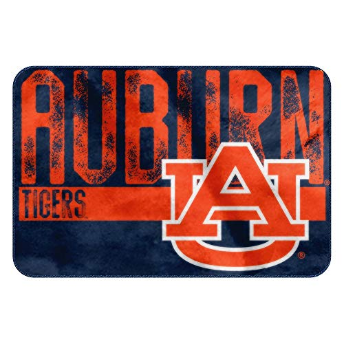 The Northwest Company NCAA Auburn Embossed Memory Foam Rug, One Size, Multicolor
