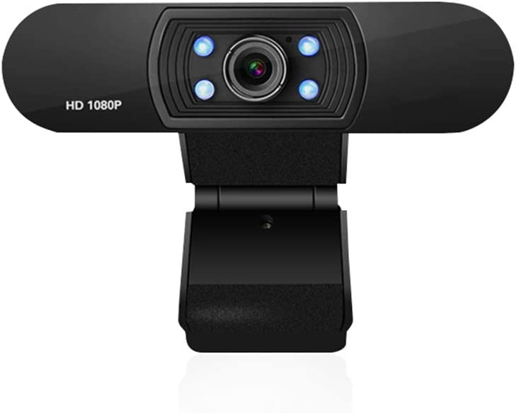 LucaSng Webcam with Microphone, HD 1080P USB Computer Camera for Desktop and Laptop, for Zoom, Streaming, Video Calling and Recording