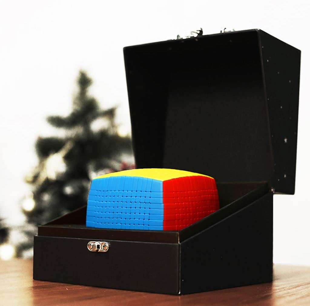 HXGL-Cubos Mágicos Cubo De La Velocidad 15x15 Cubo Rompecabezas Caja De Juguetes Rompecabezas del Regalo De Cumpleaños For El Estudiante De Niños For El Adulto Sólida Durable Suave con Caja De Regalo: