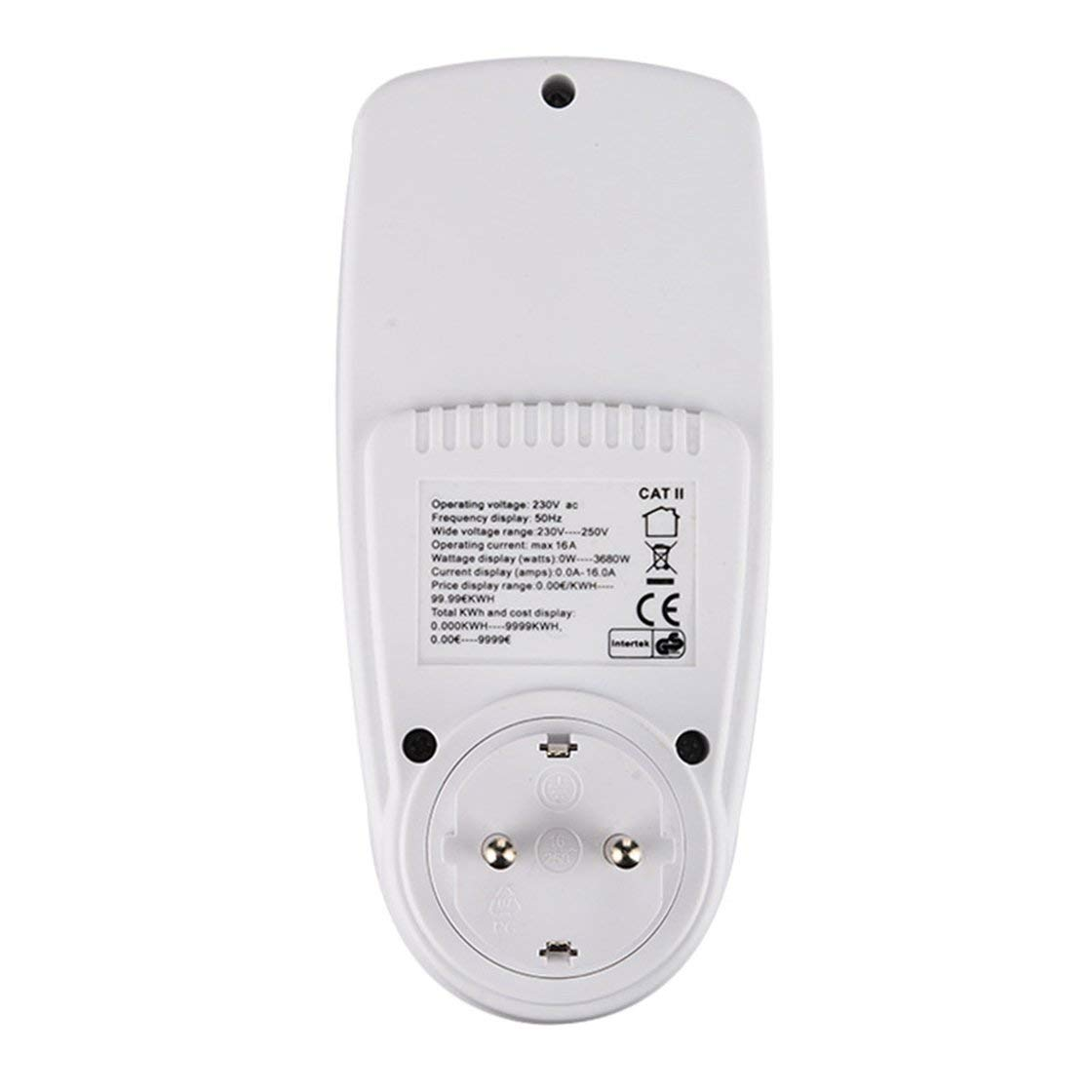 Erneuerbare Energie Smart Kwe-pmb01 Plug Socket Digital Voltage Wattmeter Electricity Analyzer Monitor Wt