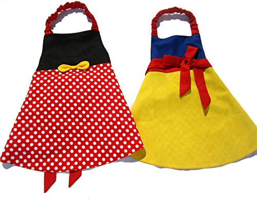 Princess Dress Up Apron Costume Reversible (Fairest in The ()