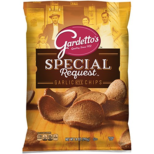 Gardetto's, Snack Mix, Roasted Garlic Rye Chips, 14 oz. Bag ()