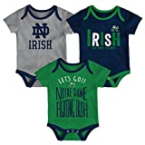 Gen 2 NCAA Notre Dame Fighting Irish Newborn & Infant Little Tailgater Bodysuit, 24 Months, Dark Navy