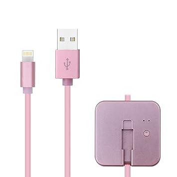 Lila iProtect Apple Lightning USB Datenkabel Ladekabel