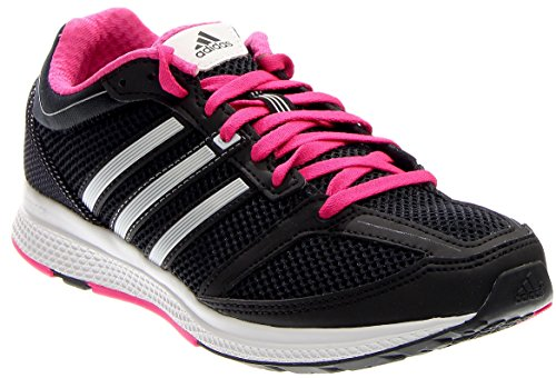 adidas Performance Women's Mana RC Bounce Running Shoes,Black/Silver/White,5 M US