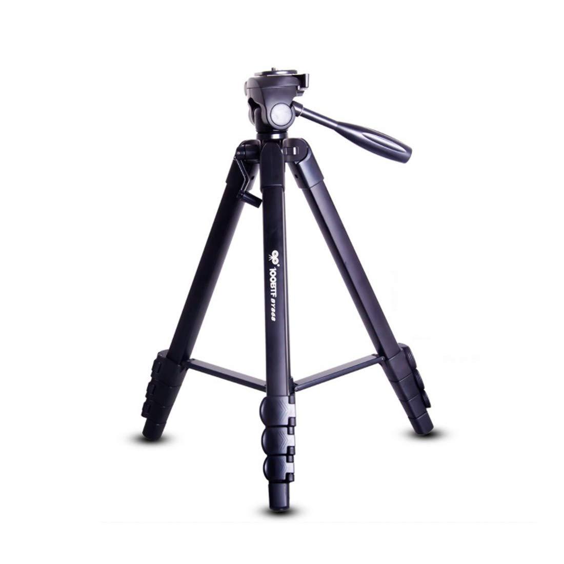 JOYS CLOTHING 単一カメラ三脚カメラサポート写真機器三脚 (Color : ブラック)  ブラック B07L28FWJD