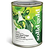 Solid Gold Green Cow Wet Dog Food, Green Beef Tripe Recipe, All Life Stages, All Sizes, 13.2 oz Can, 12 Count