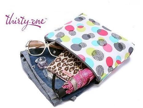 Amazon.com   Thirty-one Bag Zipper Pouch in Punch Bowl NIP   Cosmetic Tote  Bags   Beauty 2146484557e1e