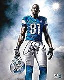 Calvin Johnson Megatron Detroit Lions Signed 8x10 Photo