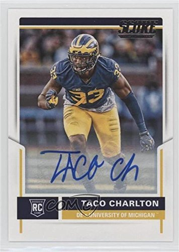 Taco Charlton (Football Card) 2017 Score - [Base] - Rookie Signatures [Autographed] #432