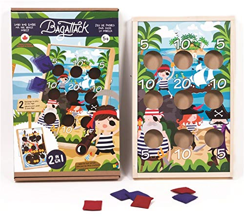 Rustik Bag Attack Sand Bag Game for The Whole Family, Ideal for Kids Parties
