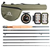 Maxcatch Travel Fly Fishing Combo 5 Weight, 7 Piece Fly Rod and Reel Outfit (5 weight) Review