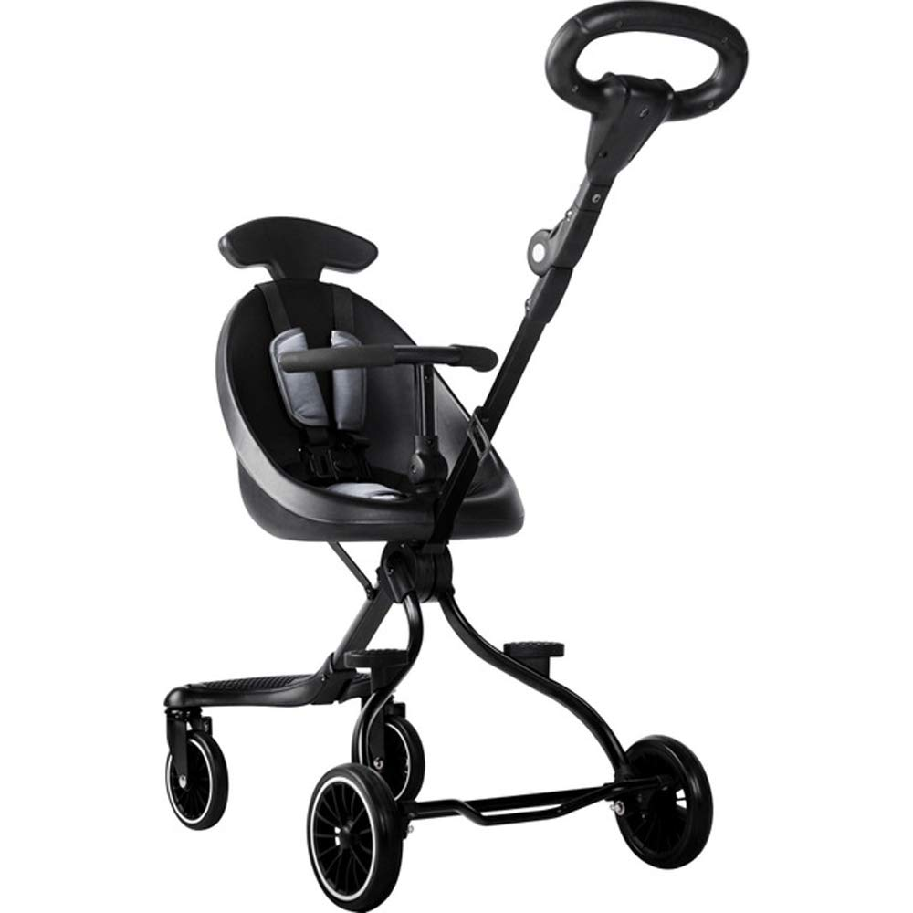 ZL Baby Stroller, High Landscape Baby Pram Lightweight Folding Children Two-Way Four-Wheel Shock Absorber Two-Way Slip Baby Artifact