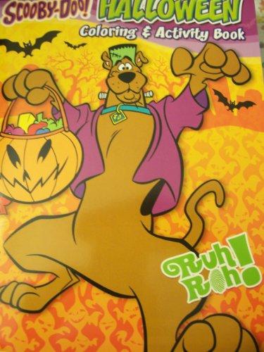 Scooby-Doo! Holiday Coloring & Activity Book ~ Halloween (Frankenstein Scooby) (Halloween Word Matching Game)