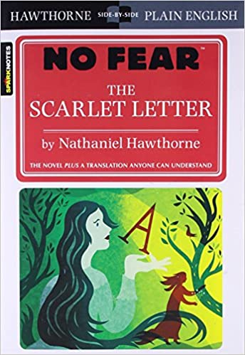 amazoncom the scarlet letter no fear 9781411426979 nathaniel hawthorne books