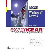 McSe Windows Nt Server 4: Examgear (New Riders exam gear) by New Riders Development (1999) Textbook Binding