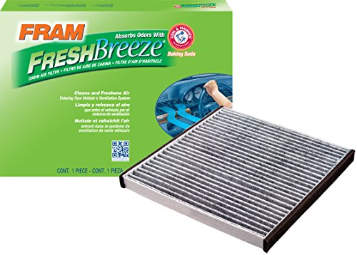 - FRAM CF10132 Fresh Breeze Cabin Air Filter with Arm & Hammer