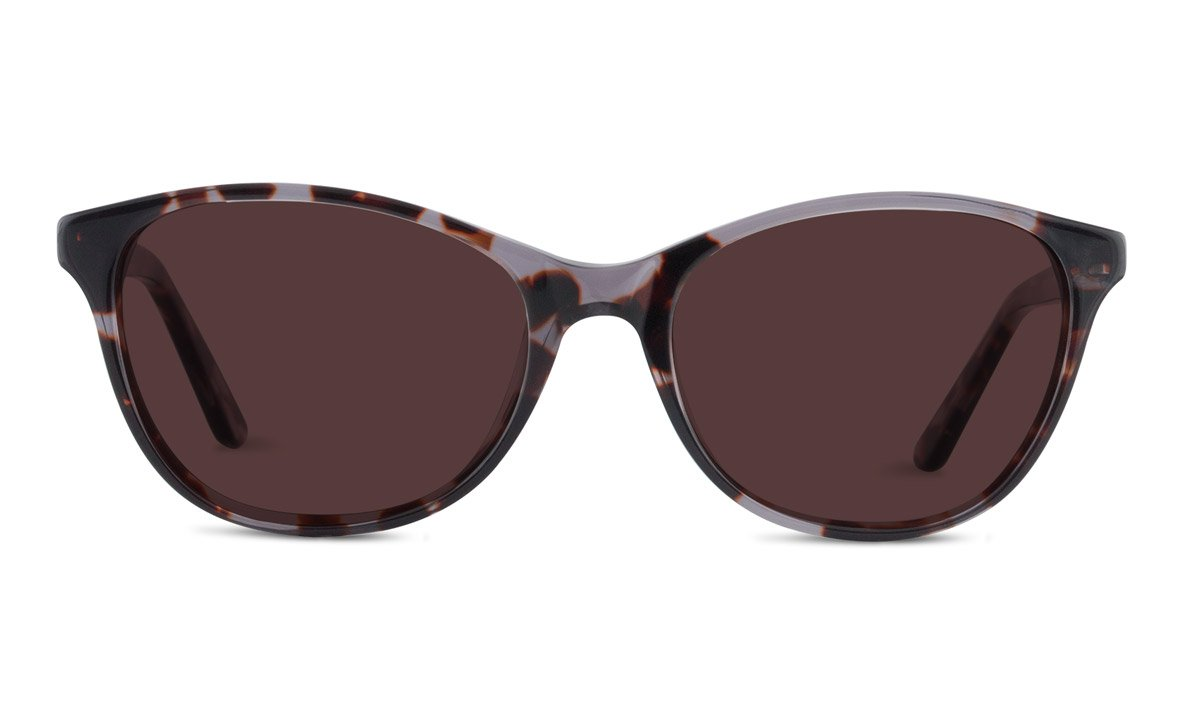 TheraSpecs Audrey Migraine Glasses for Light Sensitivity, Photophobia and Fluorescent Lights   Women   Polarized Outdoor Lenses   Brown