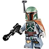 Lego Boba Fett Minifigure with Blaster & Cape - Star Wars - New Printing for 2016 - Loose by LEGO