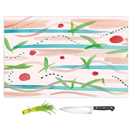 DiaNoche Designs Kitchen Cutting Boards by artist Catherine Holcombe - Southwest Song, Large 15