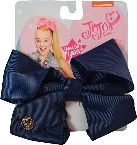Navy Blue Bow - JoJo Siwa Medium Hair Bow (Navy Blue)